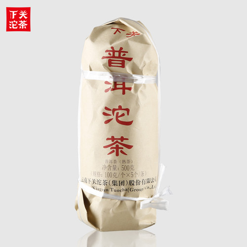 XIAGUAN Brand Pu'er Tuo Tea Pu-erh Tea Tuo 2019 500g Ripe