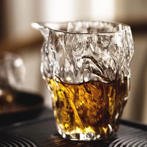 Shu Chun Wen Glass Fair Cup Of Tea Serving Pitcher Creamer 250ml