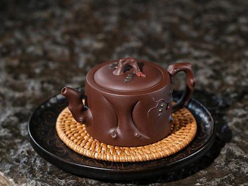 Handmade Yixing Zisha Clay Teapot Duozi 170ml