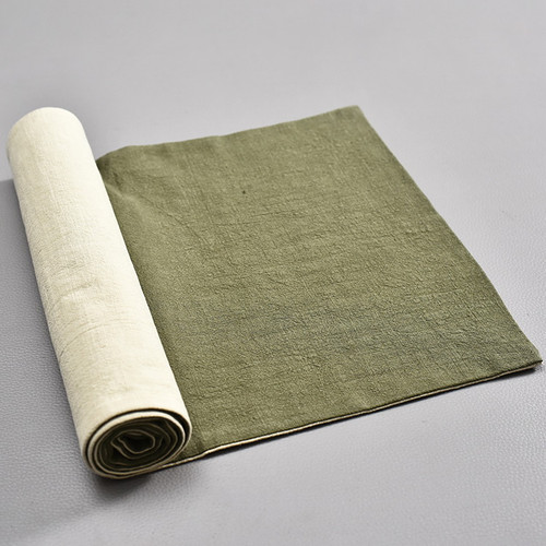 Chan Yi Cotton Linen Placemat for Gongfu Tea Ceremony