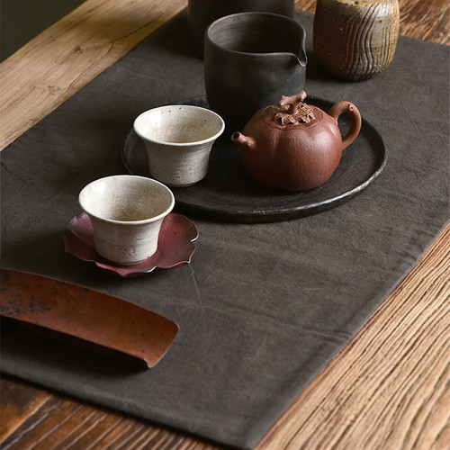 Shu Liang Ran Earth Cloth Placemat for Gongfu Tea Ceremony