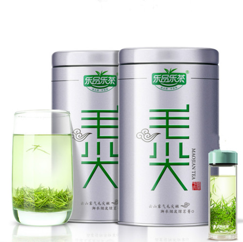LEPINLECHA Brand One Bud Two Three Leaves Xin Yang Mao Jian Xinyang Downy Tip Chinese Green Tea 125g*2