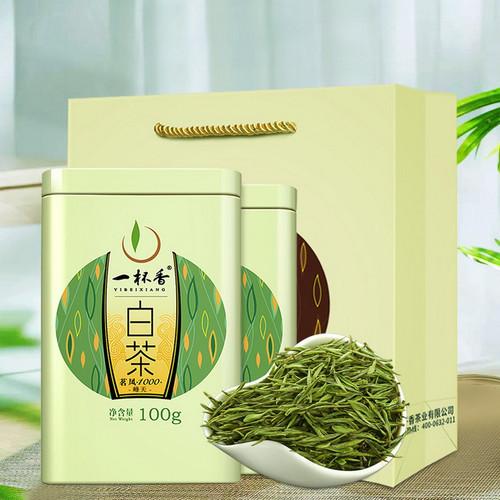 YIBEIXIANG TEA Brand Mingfeng 1000 An Ji Bai Pian An Ji Bai Cha Green Tea 100g*2
