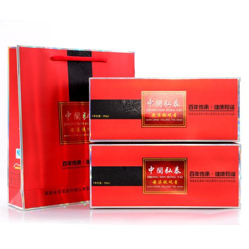 ZHONG MIN HONG TAI Brand 109 Nongxiang Anxi Tie Guan Yin Chinese Oolong Tea 250g*2