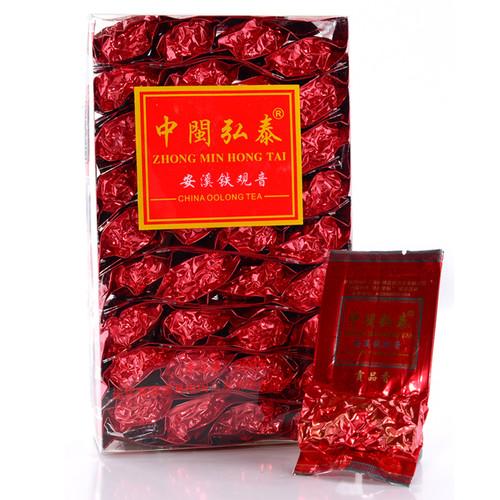 ZHONG MIN HONG TAI Brand 1725 Nongxiang Anxi Tie Guan Yin Chinese Oolong Tea 84g