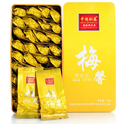 ZHONG MIN HONG TAI Brand Mei Xin Qingxiang Anxi Tie Guan Yin Chinese Oolong Tea 250g*2