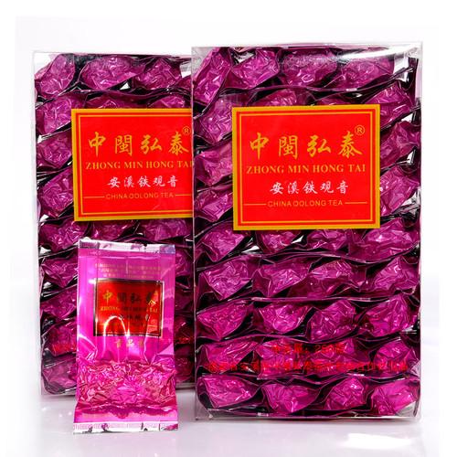 ZHONG MIN HONG TAI Brand Xianghua Zhengwei Gongpinxiang Qingxiang Anxi Tie Guan Yin Chinese Oolong Tea 250g*2