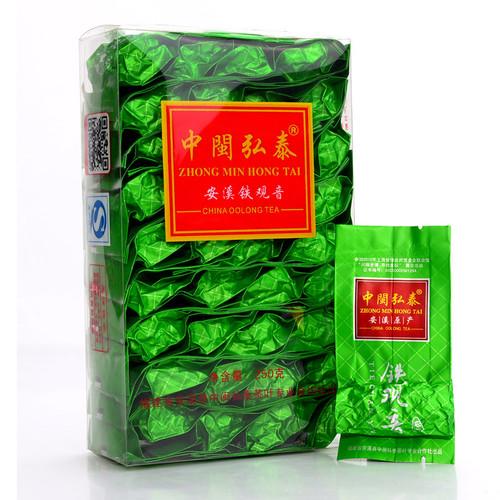 ZHONG MIN HONG TAI Brand Premium Nongxiang Grade Anxi Tie Guan Yin Chinese Oolong Tea 250g