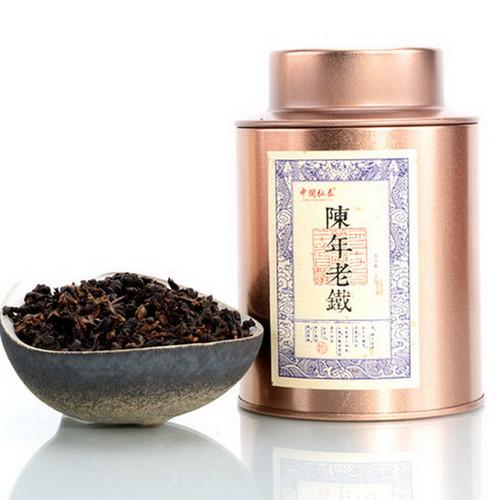 ZHONG MIN HONG TAI Brand Tan Bei Chen Nian Lao Tie  Anxi Tie Guan Yin Chinese Oolong Tea 100g