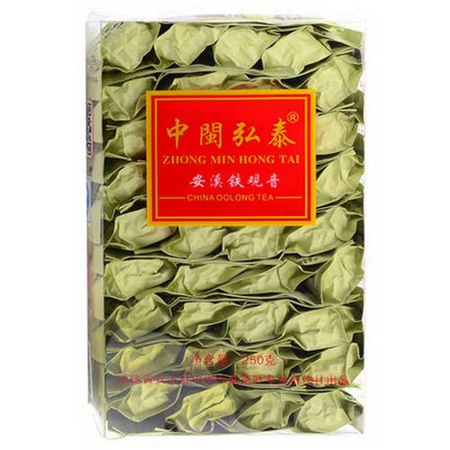ZHONG MIN HONG TAI Brand QXX389 Te500 Qingxiang Anxi Tie Guan Yin Chinese Oolong Tea 250g
