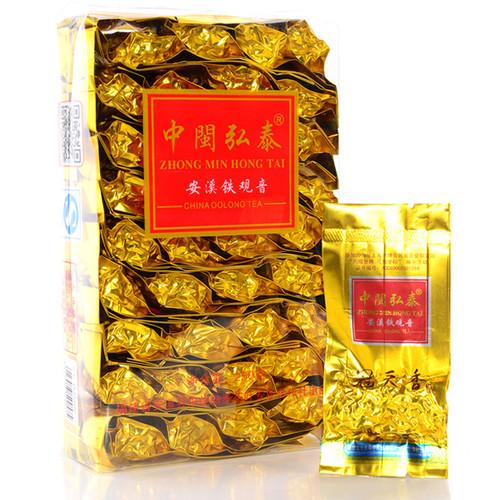 ZHONG MIN HONG TAI Brand Guan Tian Xiang Qingxiang Premium Grade Anxi Tie Guan Yin Chinese Oolong Tea 250g