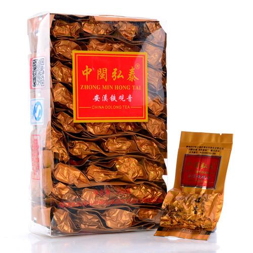 ZHONG MIN HONG TAI Brand Yun Kou Xiang Premium Grade Qingxiang Anxi Tie Guan Yin Chinese Oolong Tea 250g