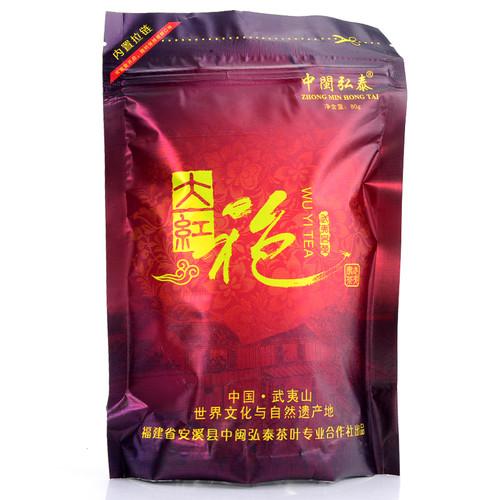 ZHONG MIN HONG TAI Brand DHP86 Nongxiang Da Hong Pao Fujian Wuyi Big Red Robe Oolng Tea 80g