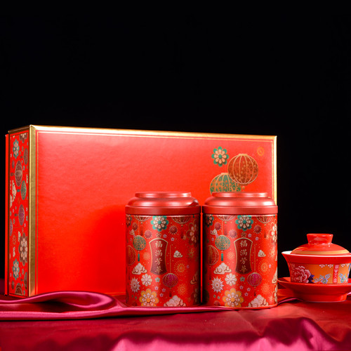 ZHONG MIN HONG TAI Brand Fuman Fanghua Da Hong Pao Fujian Wuyi Big Red Robe Oolong Tea 80g*2