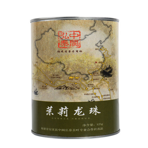 ZHONG MIN HONG TAI Brand Yan Chuang World Mo Li Pearl Jasmine Green Tea 125g