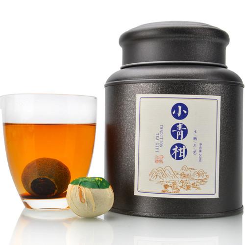 ZHONG MIN HONG TAI Brand Xinhui Chenpi Orange Pu'er Yunnan Pu-erh Tea Stuffed Tangerine Ripe 2019 250g
