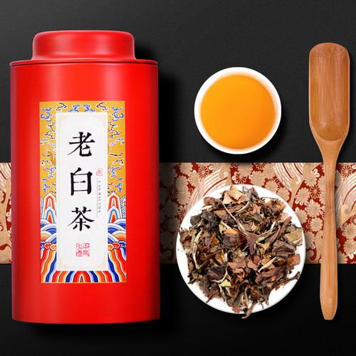 ZHONG MIN HONG TAI Brand Old White Tea Gong Mei White Tea  Loose 60g
