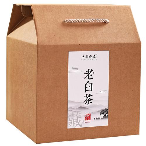 ZHONG MIN HONG TAI Brand Old White Tea Shou Mei White Tea  Loose 500g