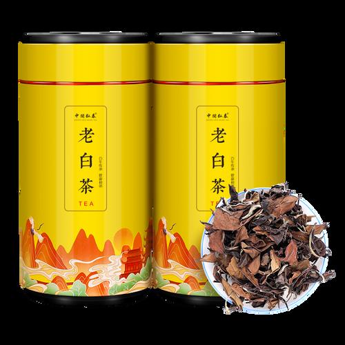 ZHONG MIN HONG TAI Brand Old White Tea Gong Mei White Tea  Loose 250g*2