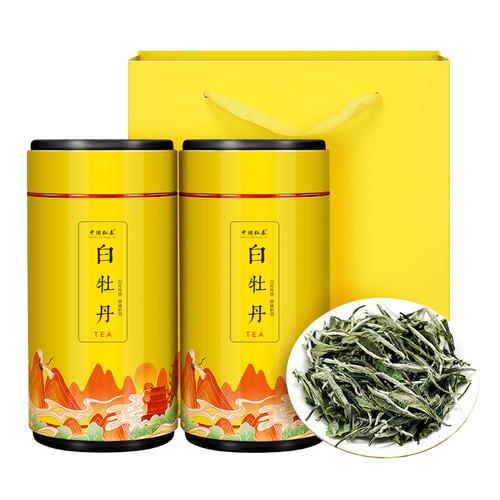 ZHONG MIN HONG TAI Brand Peony King White Peony Fuding White Tea Loose 80g*2