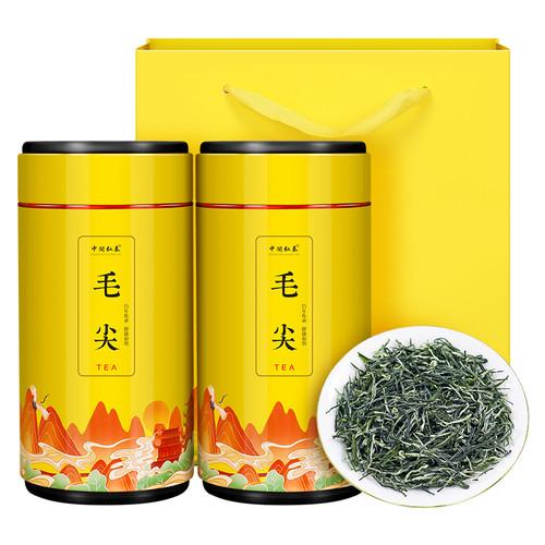 ZHONG MIN HONG TAI Brand Ming Qian Xin Yang Mao Jian Xinyang Downy Tip Chinese Green Tea 250g*2