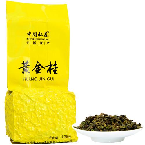 ZHONG MIN HONG TAI Brand Huang Jin Gui Gui Hua Oolong Gift Box Osmanthus Oolng Tea 125g