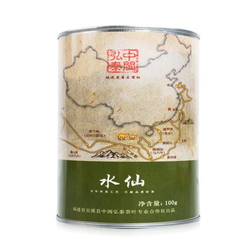 ZHONG MIN HONG TAI Brand Yan Chuang World Shui Xian Rock Yan Cha China Fujian Oolong Tea 100g