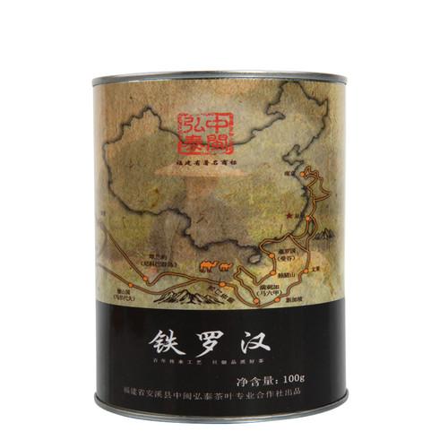 ZHONG MIN HONG TAI Brand Tie Luo Han Iron Arhat Oolng Tea 100g