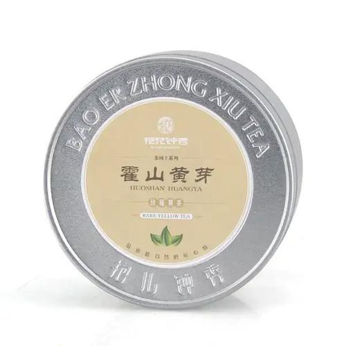 BAO ER ZHONG XIU Brand 1st Grade Huo Shan Huang Ya Yellow Buds 50g