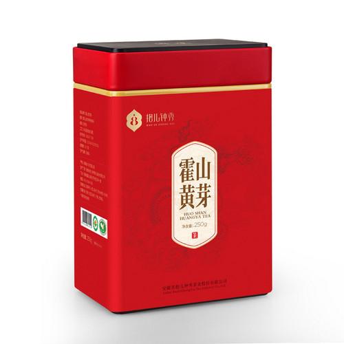 BAO ER ZHONG XIU Brand Red Can Yu Qian 1st Grade Grade Huo Shan Huang Ya Yellow Buds 250g