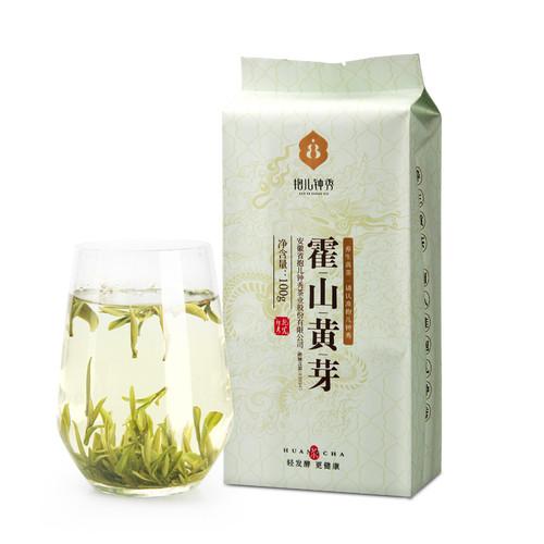 BAO ER ZHONG XIU Brand Ming Qian Premium Grade Huo Shan Huang Ya Yellow Buds 100g