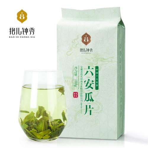 BAO ER ZHONG XIU Brand Liu An Gua Pian Melon Slice Tea 100g