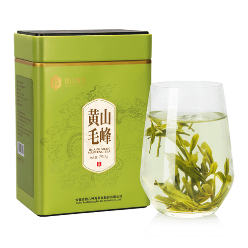 BAO ER ZHONG XIU Brand Huang Shan Mao Feng Yellow Mountain Green Tea 250g
