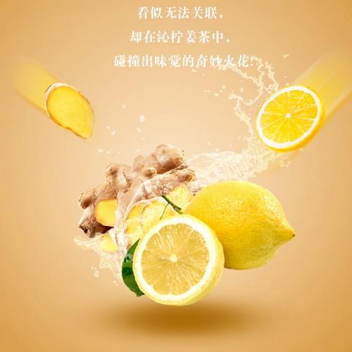 Organic Lemon Ginger Herbal Tea Dried Lemon & Giner Slices 500g