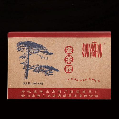 Sun Yi Shun Liu An Hei Cha Brick Black Tea 400g