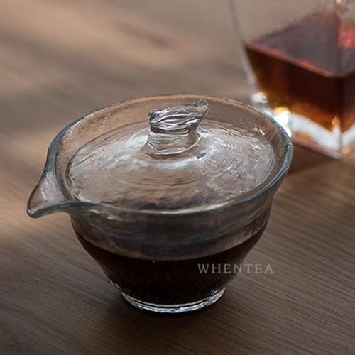 Chui Wen Glass Gongfu Tea Gaiwan Brewing Vessel 160ml