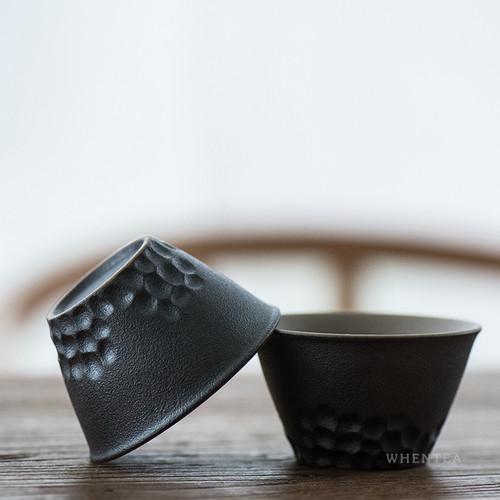 Chui Mu Wen Chinese Ceramic Gongfu Tea Tasting Teacup 55ml