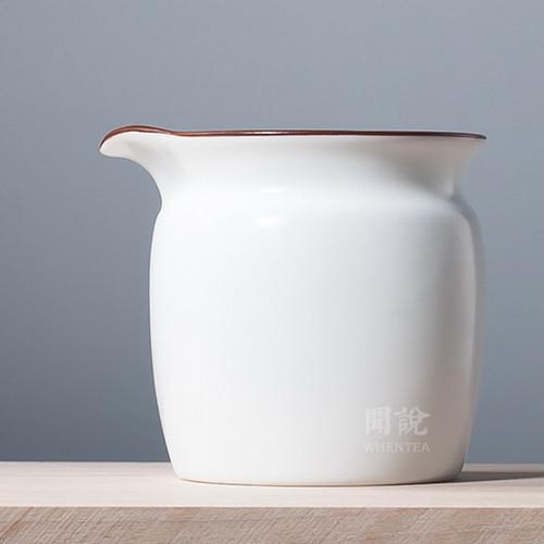 Zhi Bai Porcelain Fair Cup Of Tea Serving Pitcher Creamer 220ml