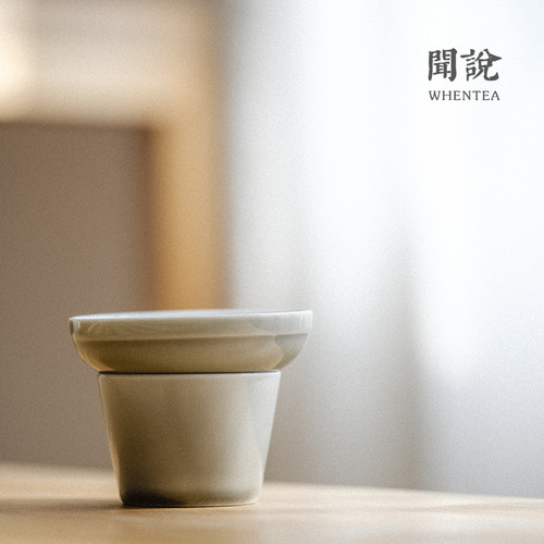 Yan Hui Ceramic Gongfu Tea Strainer