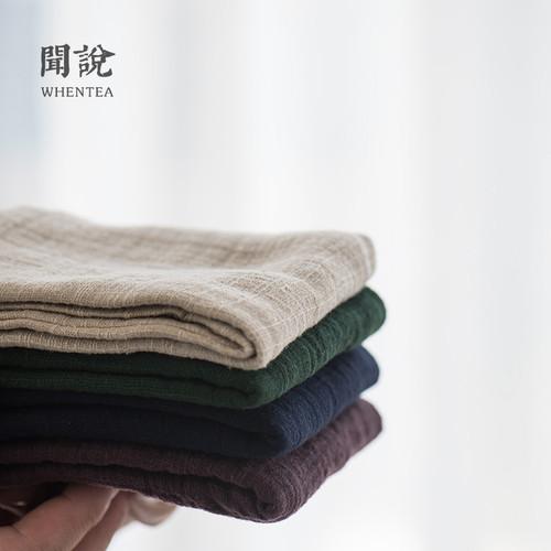 Ren Wen Professional Absorbent Gongfu Tea Ceremony Cleaning Cloth Table Towel 26.5x26.5cm