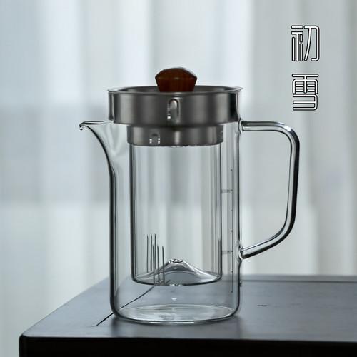 Ban Hu Sha Heat Resistant Chinese Glass Filter Teapot 850ml