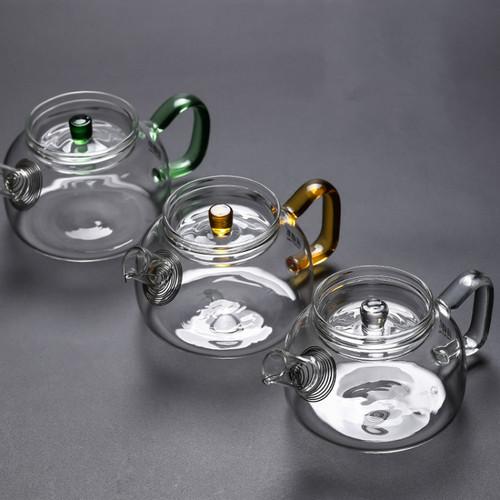 830 Glass Chinese Kung Fu Tea Teapot 230ml