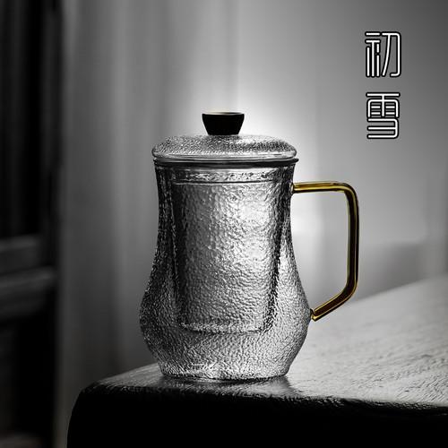 9772 South Wind Glass Loose Leaf Tea Mug with Infuser 560ml