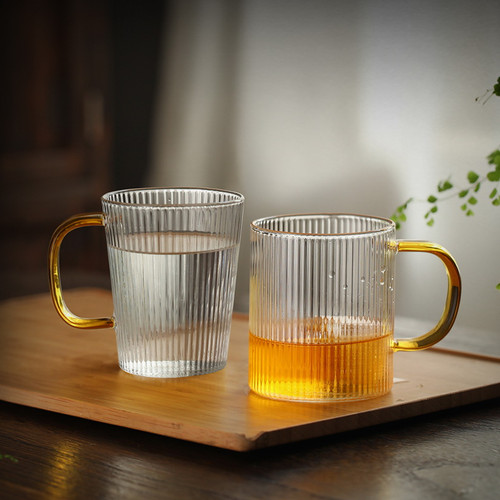 Tiao Wen Glass Tea Mug