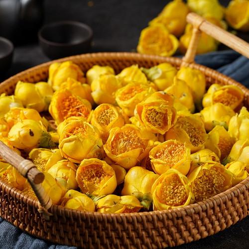 Organic Wild Golden Camellia Flower Camellia Chrysantha 500g
