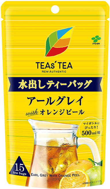 Ito En Itoen TEAs' TEA  Earl Grey Black Tea With Organ Peel 15 Tea Bags