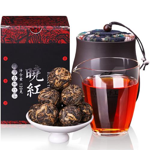 YUNPIN Brand Black Can Pearl Xiaohong Ancient Tree Long Zhu Dian Hong Yunnan Black Tea 120g