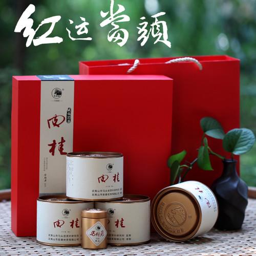 MATOUYAN Brand Hongyun Dangtou Rou Gui Wuyi Cinnamon Oolong Tea 50g*4