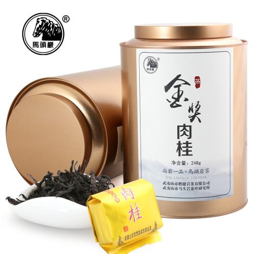MATOUYAN Brand Gold Award Rou Gui Wuyi Cinnamon Oolng Tea 248g