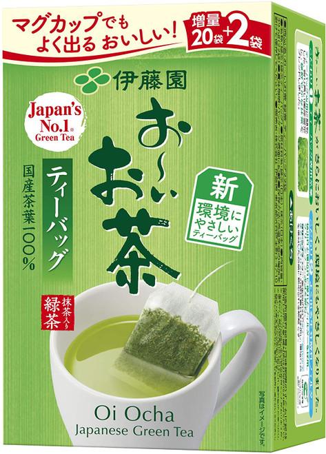 Ito En Itoen NEW Oi Ocha Green Tea 22 Tea Bags